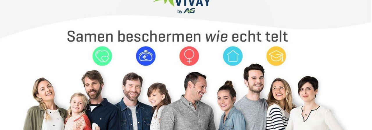 """VIVAY by Ag Insurance: """"Samen beschermen wie echt telt"""""""